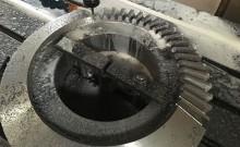 Mecanizado de Engranajes Rectos, Cónicos y Helicoidales de grandes dimensiones.